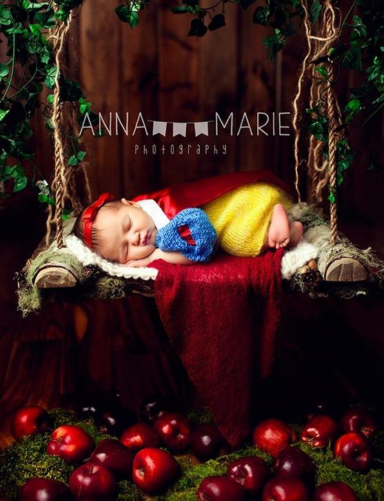 pamuk prenses bebek fotoğrafı