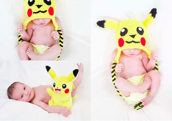 pokemon bebek fotoğrafı