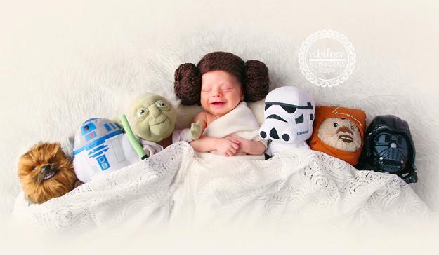 star wars bebek fotoğrafı