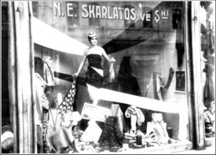 Selahattin Giz Tünel - Skarlatos Mağazası Fotoğrafı