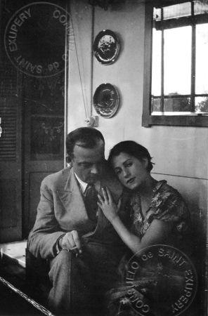 Consuelo Suncín de Gómez Carrillo ve Antoine Saint-Exupéry, 1931