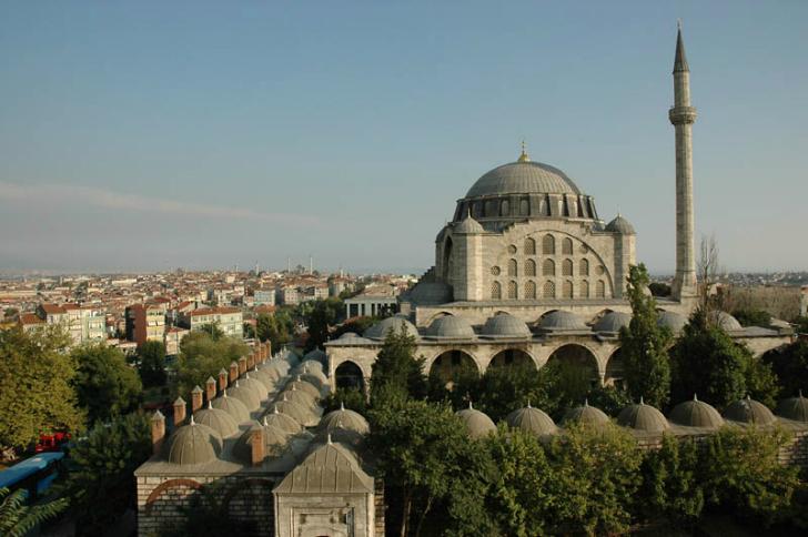 edirnekapı mihrimah camii mimar sinan