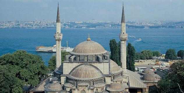 üsküdar mihrimah sultan camii mimar sinan