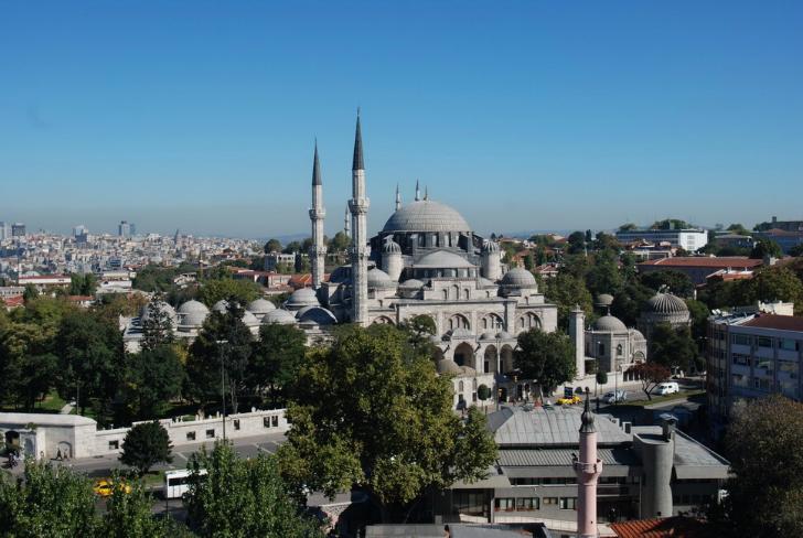 şehzade mehmet camii mimar sinan