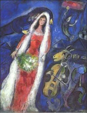 Chagall - gelin