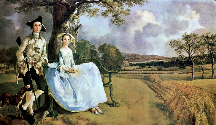 Thomas Gainsborough - Bay ve Bayan Andrews