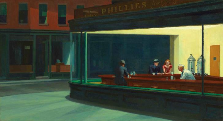 Edward Hopper - Gece Kuşları