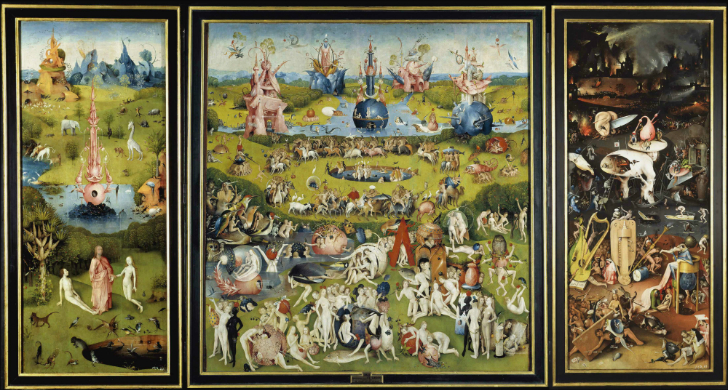 Hieronymus Bosch Zevkler Bahçesi