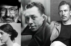 umberto eco, virginia woolf, john steinbeck, albert camus