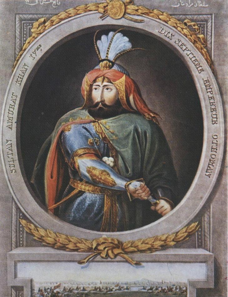 Sultan IV. Murat Kösem Sultan