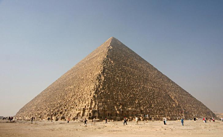 keops piramidi mısır