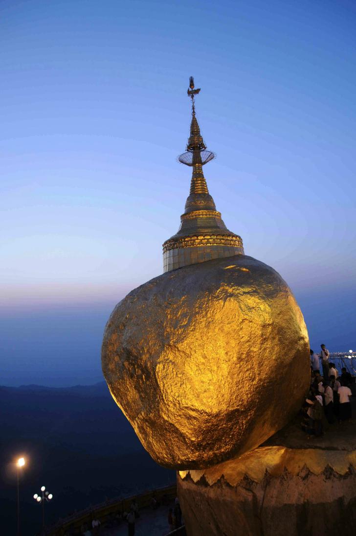 Kyaikhtiyo Stupa