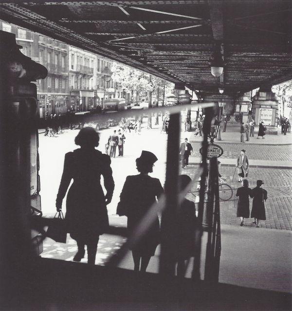willy ronis Barbes İstasyonu Paris 1939