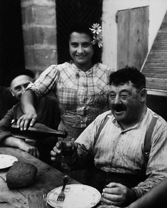 willy ronis Le Vigneron Girondin 1945