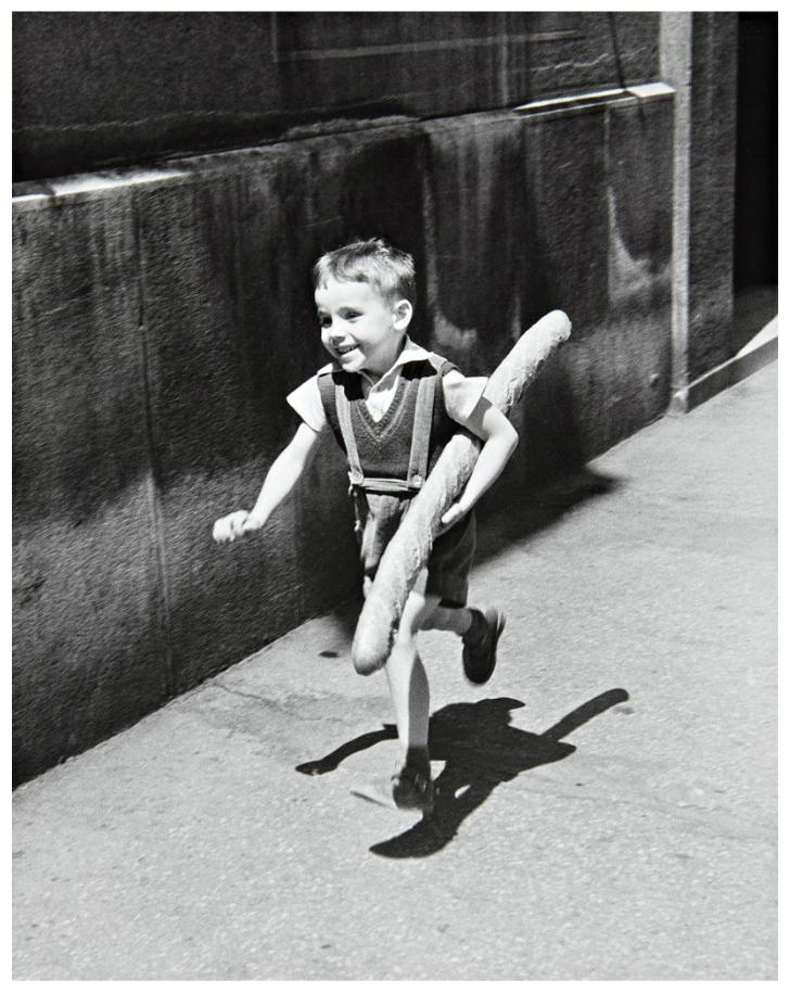 willy ronis Parisli küçük çocuk 1952