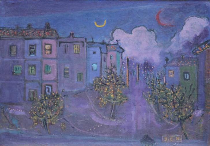 İhsan Cemal Karapurçak Yenişehirde Bir Gece