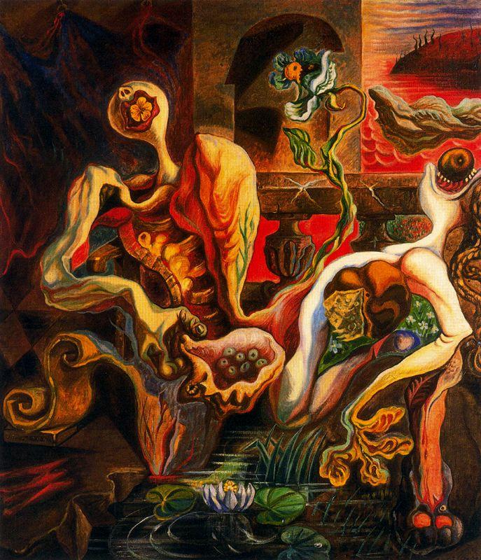 André Masson, Métamorphose Des Amants, 1938, sürrealist ressamlar