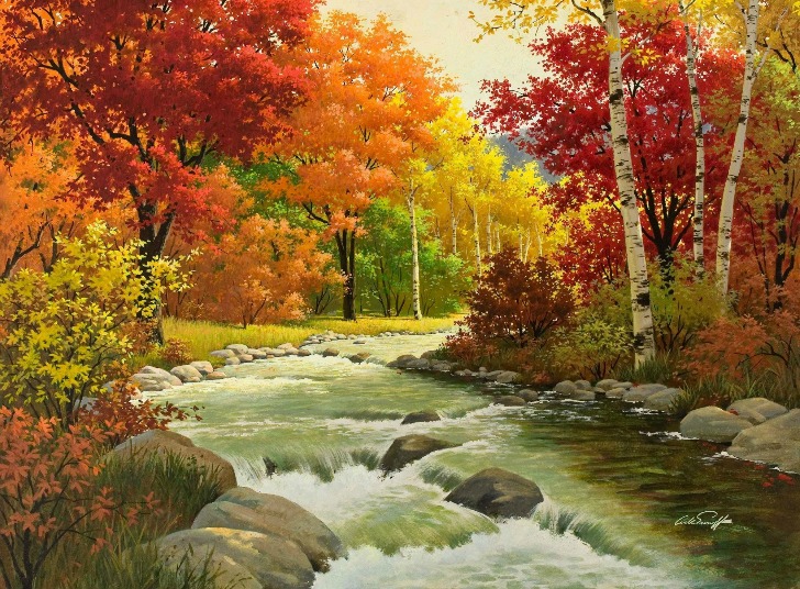 Arthur Sarnoff - Autumn Hues