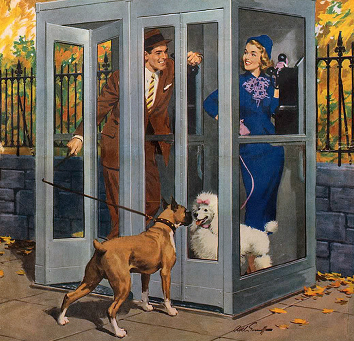 Arthur Sarnoff - Does anyone actually remember phone booths