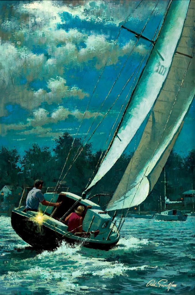 Arthur Sarnoff - Yacht Race