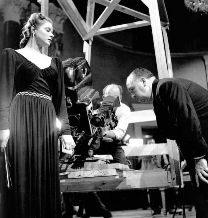 Robert Capa - İngrid Bergman