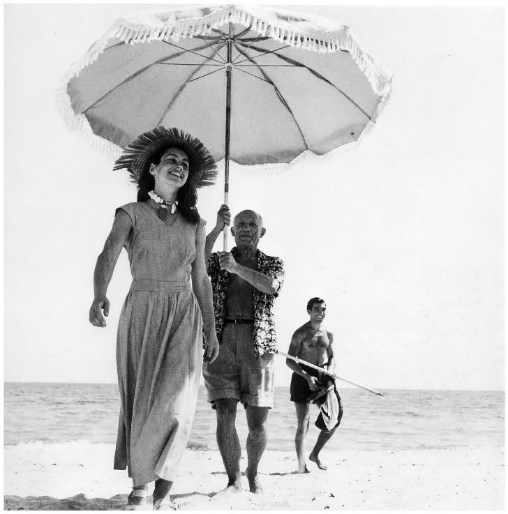 Robert Capa - Pablo Picasso Françoise Gilot