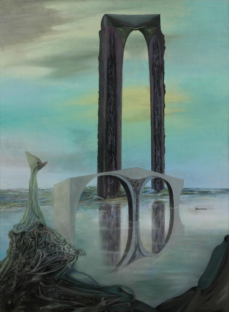 Wolfgang Paalen, La Balance, sürrealist ressamlar