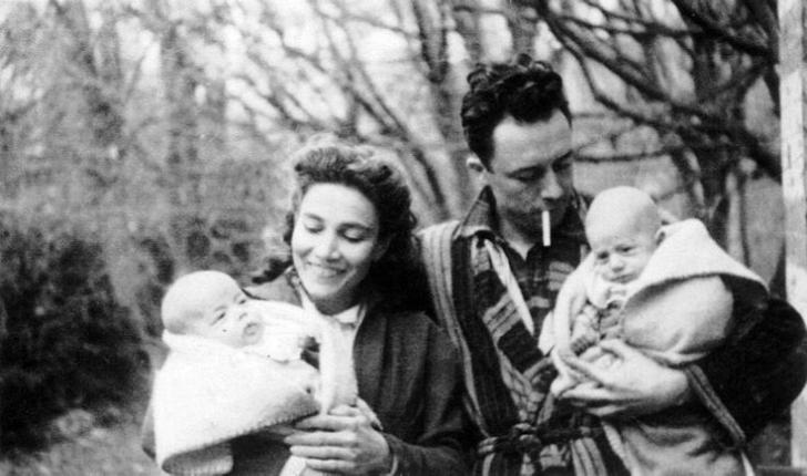 albert camus eşi ve ikiz çocukları