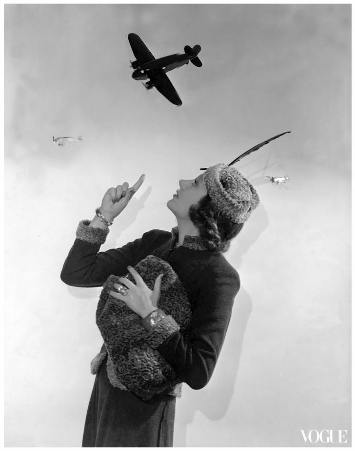 cecil beaton fotoğrafları vogue dergisi kapak 1937