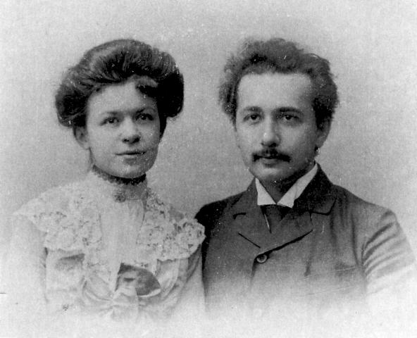 albert einstein ve eşi mileva