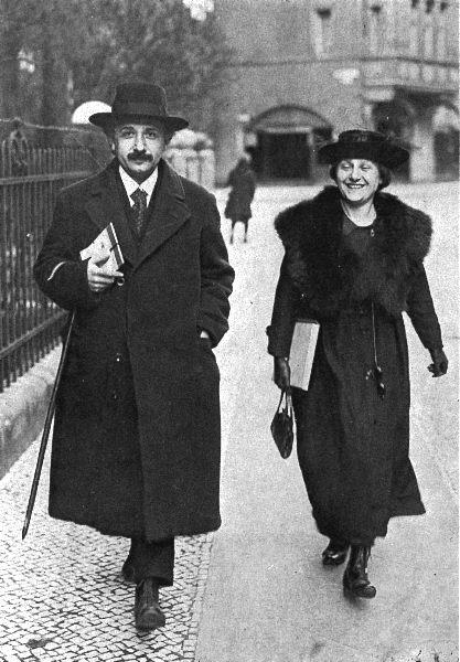 albert einstein ve ikinci eşi elsa