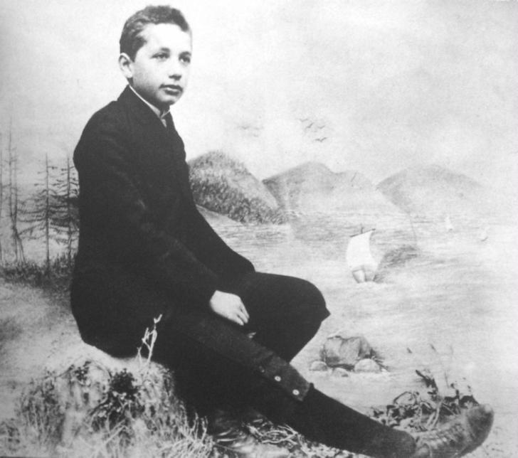 albert einstein'ın gençliği