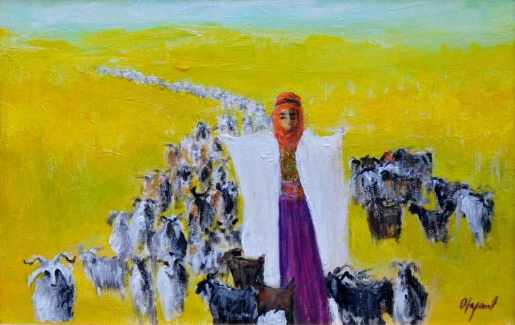 fikret otyam çoban ve kadın