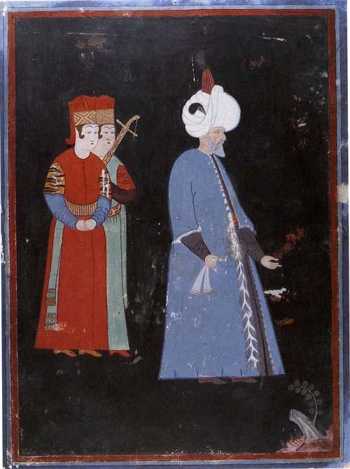 kanuni sultan süleyman minyatür