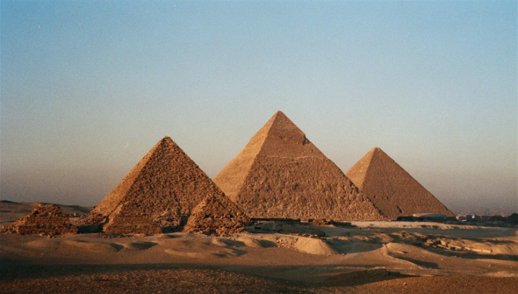 mısır piramitleri altın oran