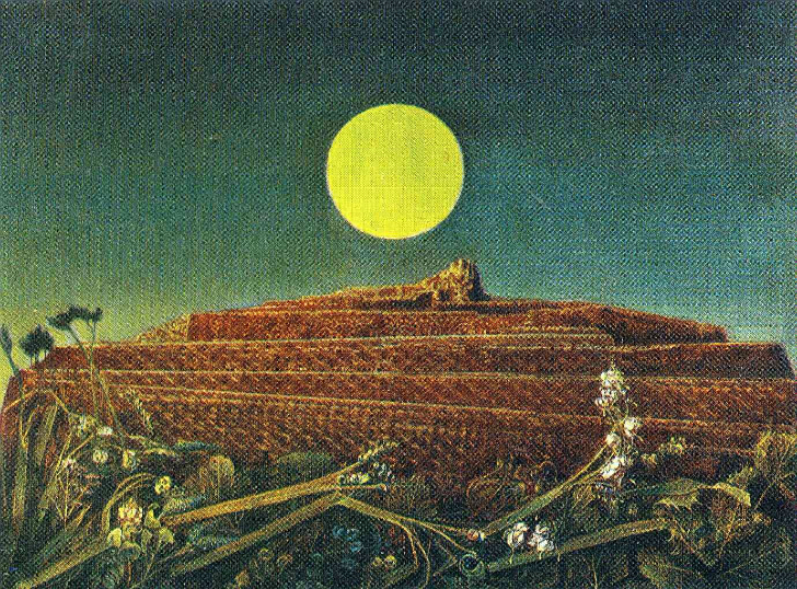 max ernst, the entire city, 1935, sürrealist ressamlar