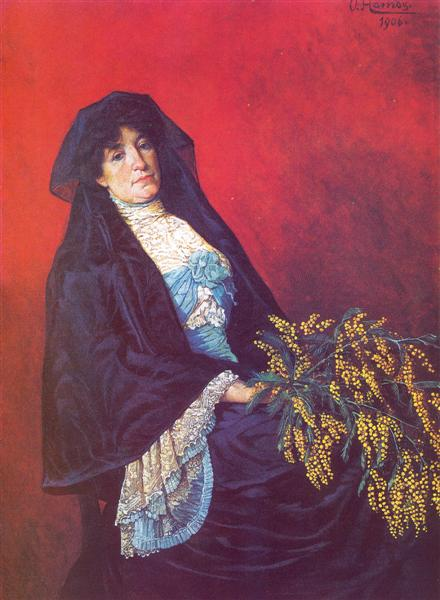 osman hamdi bey mimozalı kadın