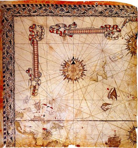 piri reis 1528'te hazırladığı harita