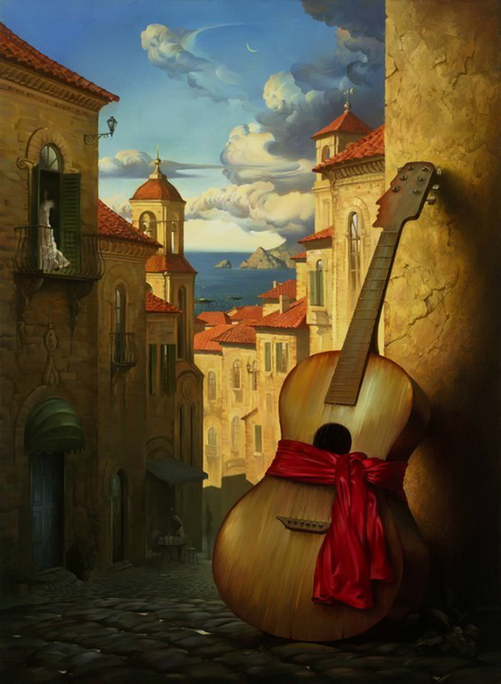 vladimir kush romance for juliet tablo