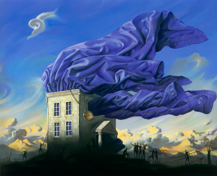 vladimir kush wind tablo