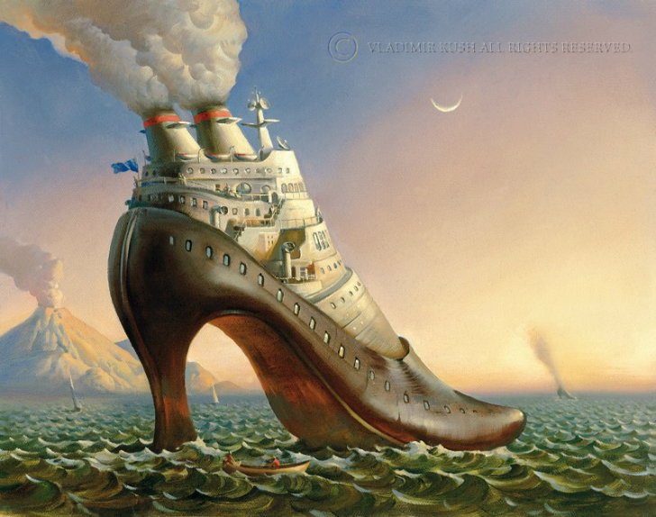vladimir kush full steam ahead tablo