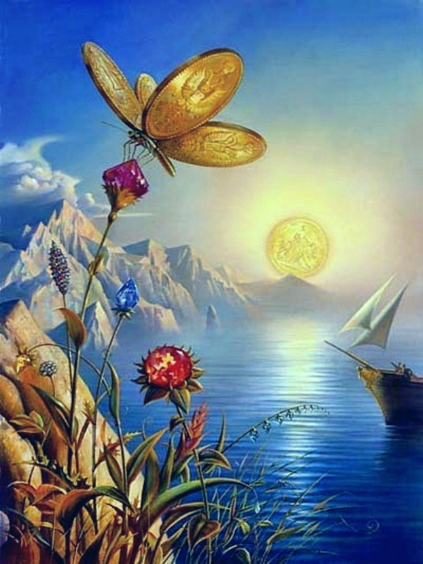 vladimir kush treasure island tablo