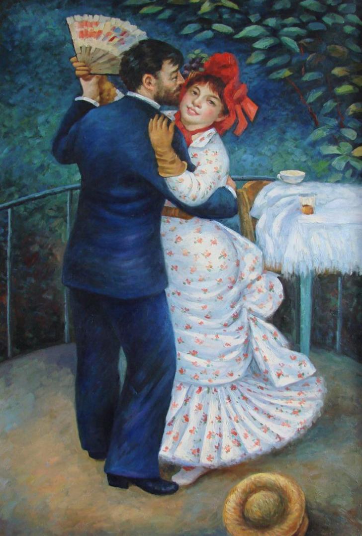 renoir, renoir tabloları, renoir kimdir, ressam renoir ve tabloları, empresyonizm