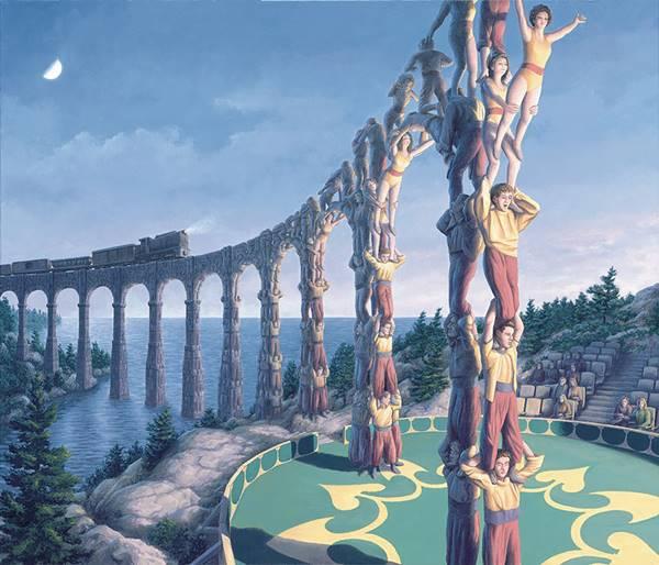 rob gonsalves, acrobatic engineering, rob gonsalves resimleri, büyülü gerçekçilik