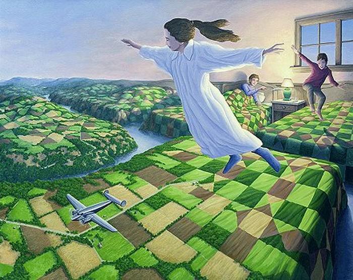 rob gonsalves, bedtime aviation, rob gonsalves resimleri, büyülü gerçekçilik