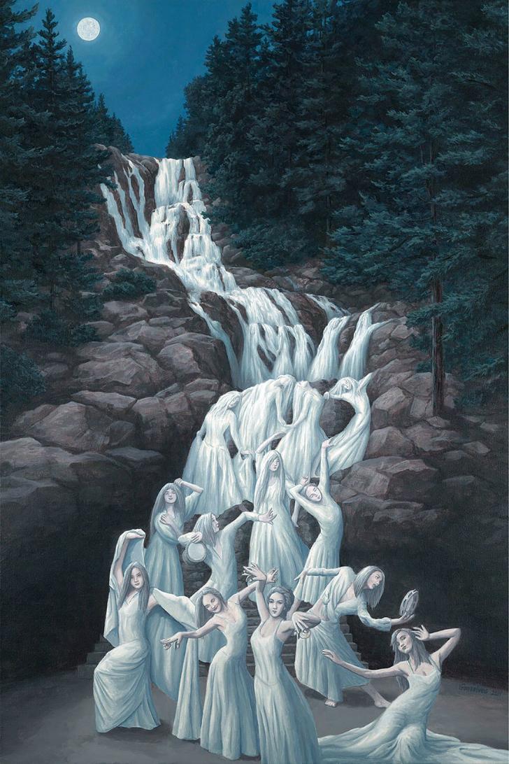 rob gonsalves, carved in stone, rob gonsalves resimleri, büyülü gerçekçilik