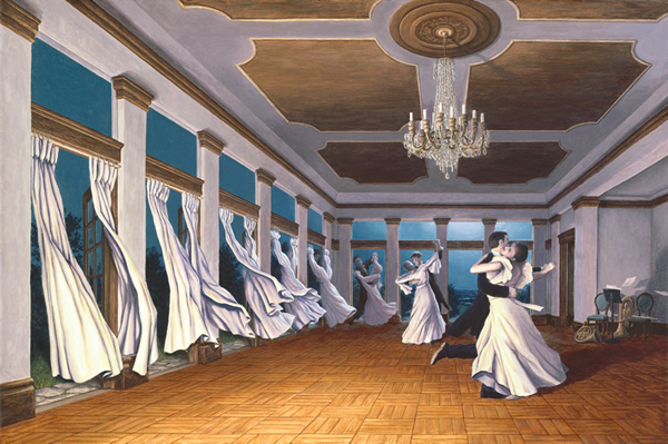 rob gonsalves, dancing wind, rob gonsalves resimleri, büyülü gerçekçilik