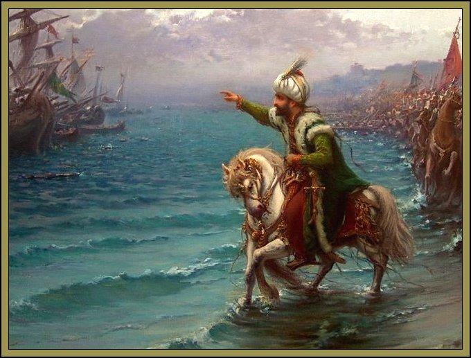 fatih sultan mehmed, istanbul'un fethi, akşemseddin, bizans, osmanlı imparatorluğu