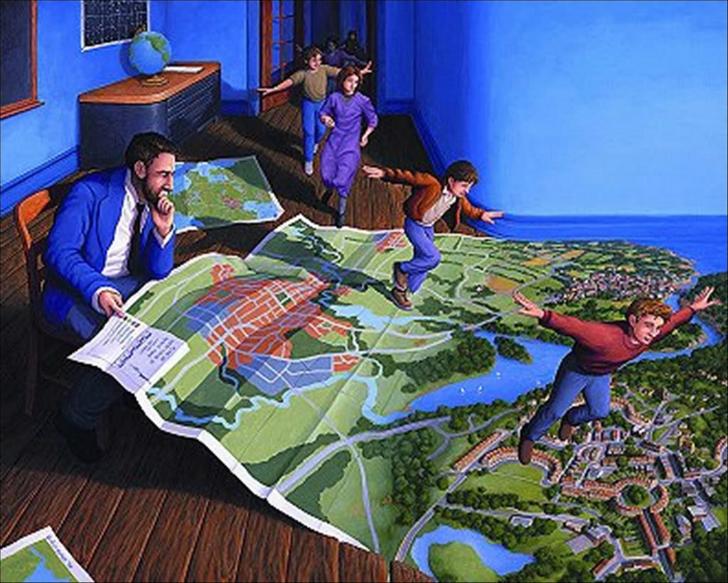 rob gonsalves, flight plan, rob gonsalves resimleri, büyülü gerçekçilik