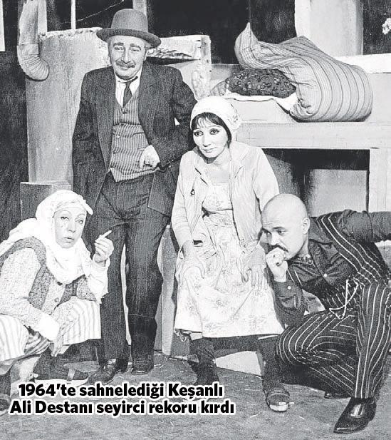 keşanlı ali destanı, gülriz sururi, haldun taner, türk tiyatrosu, türk tiyatrosu önemli oyunlar, türk tiyatrosu nedir, en önemli tiyatro oyunları, türk tiyatro oyuncuları